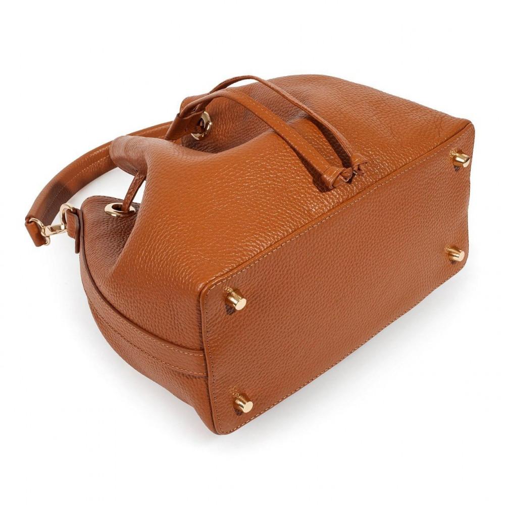 Жіноча шкіряна сумка-мішок Хобо Sonya KF-3224-5