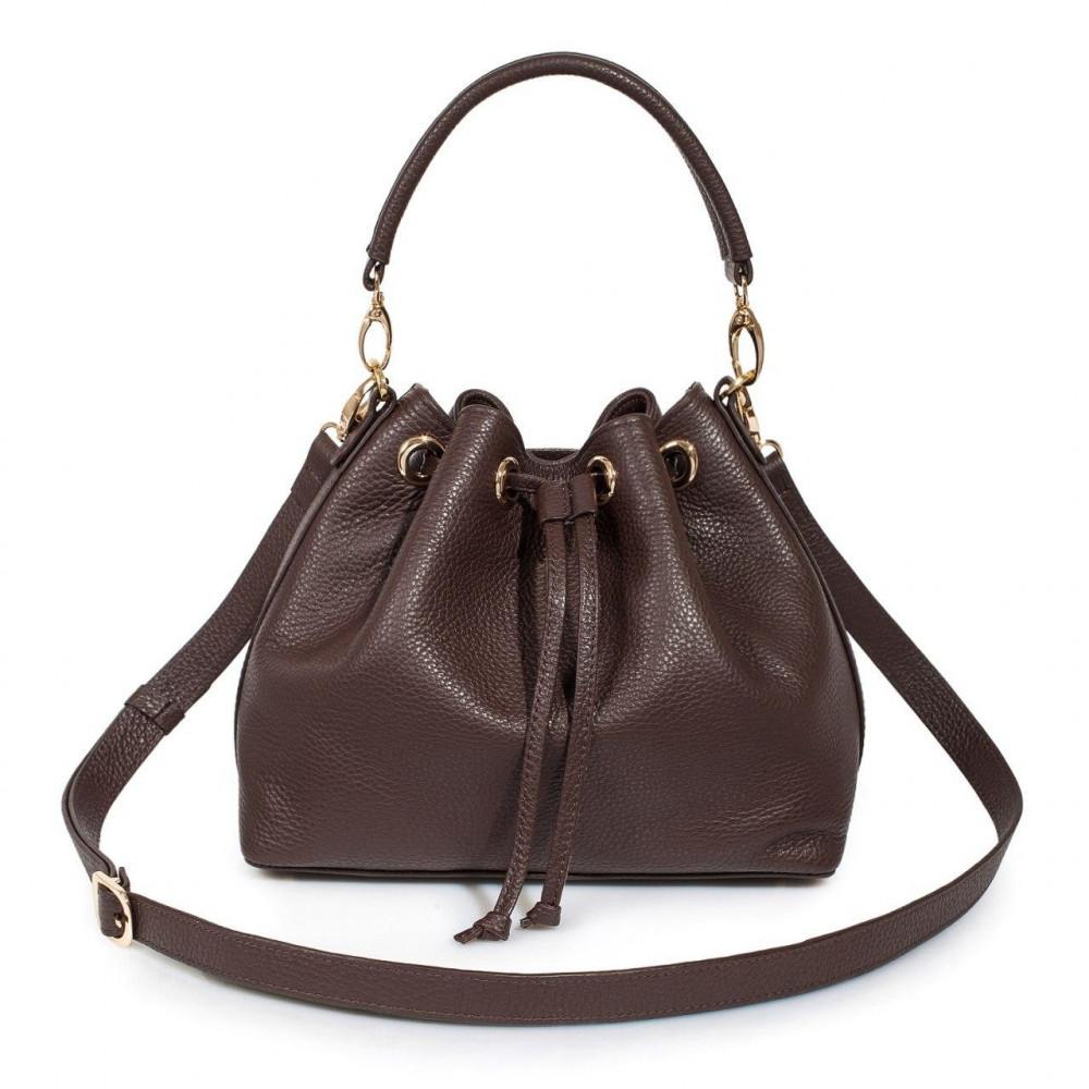 Women's leather Hobo bag Sonya KF-3227