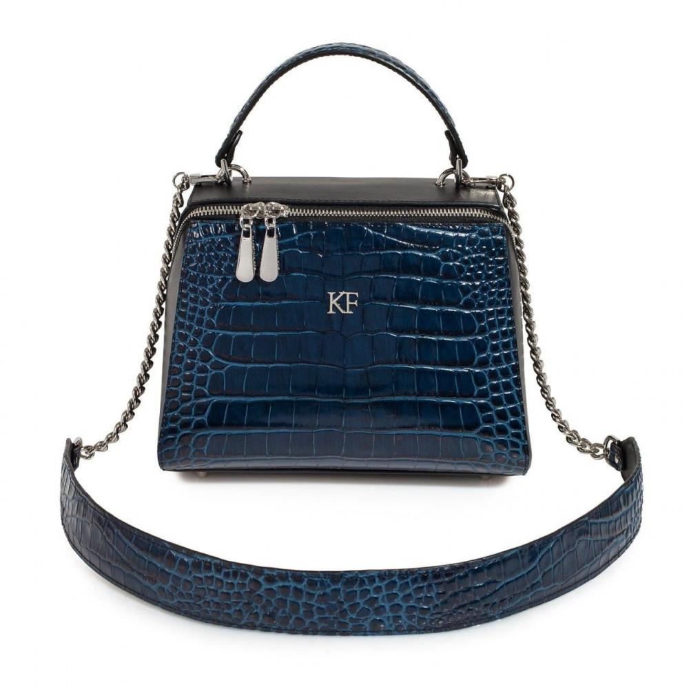 Жіноча шкіряна сумка Elegance KF-3234