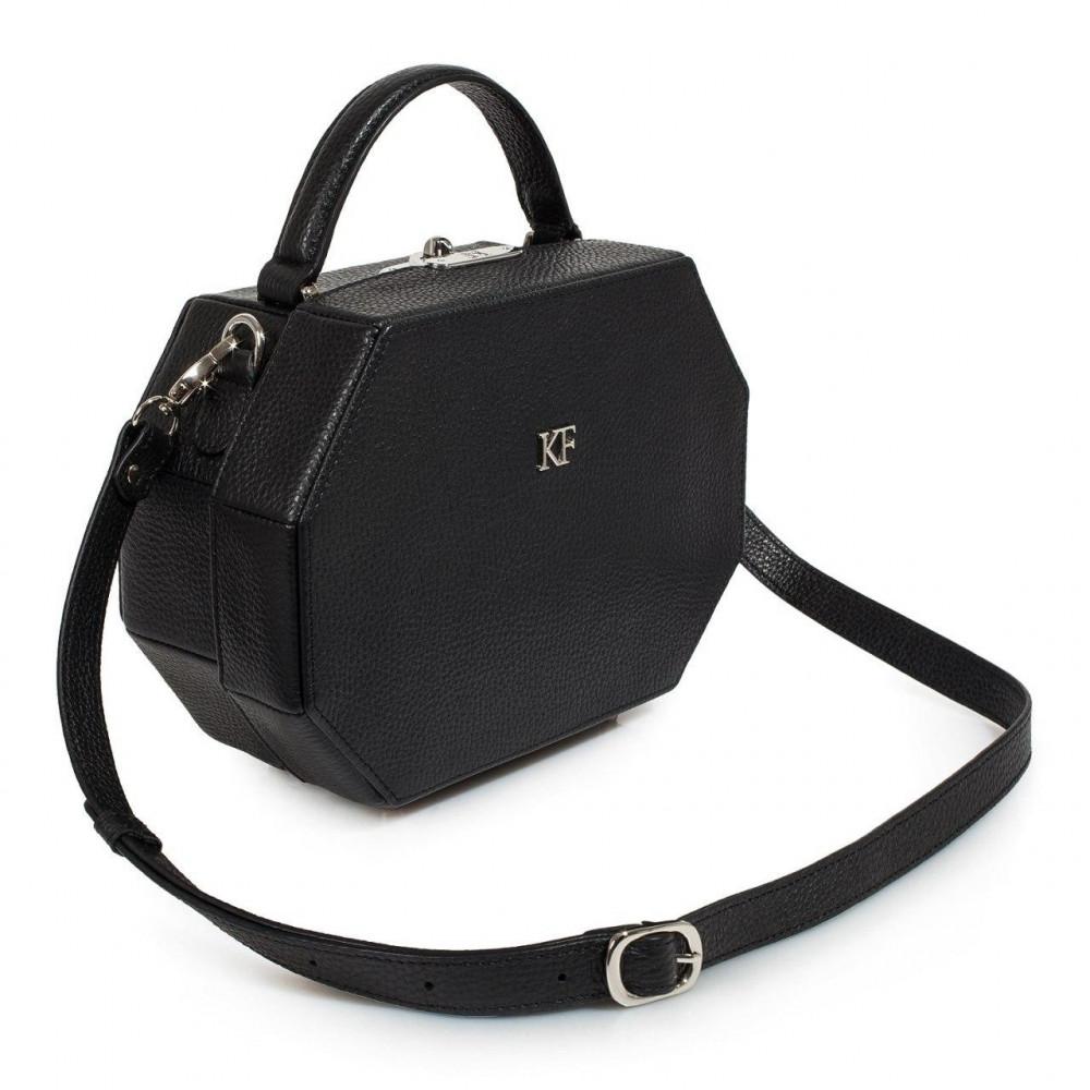 Жіноча шкіряна сумка-шкатулка Alexa KF-3243