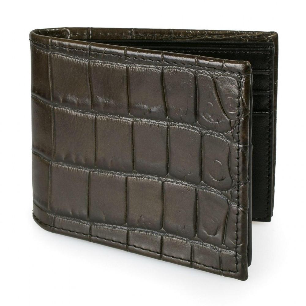 Men's leather wallet Cash fit KF-3254