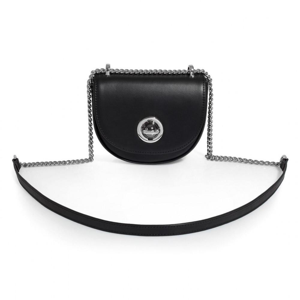 Жіноча шкіряна сумка  на ланцюжку Milena KF-3258