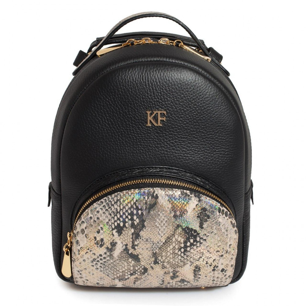 Women's leather backpack Alina KF-3272