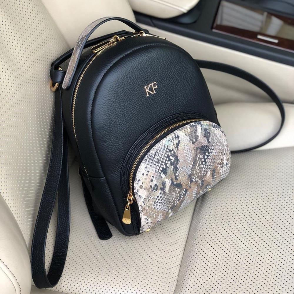 Жіночий шкіряний рюкзак Alina KF-3272-5