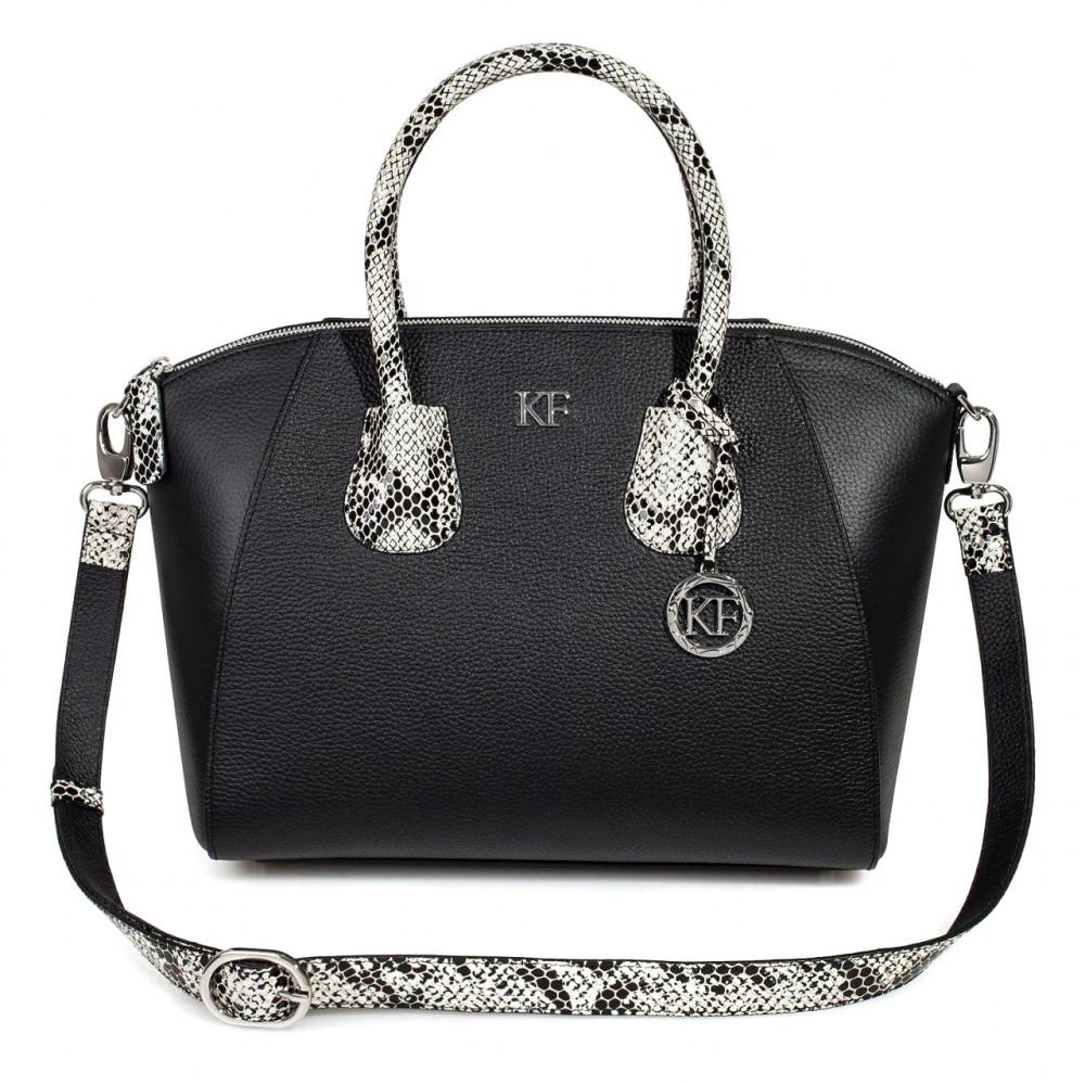 Жіноча шкіряна сумка Valeriya KF-3285