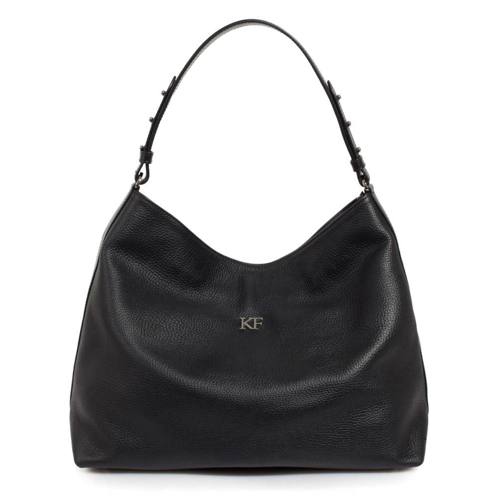Жіноча шкіряна сумка-мішок Хобо Nata KF-3291-