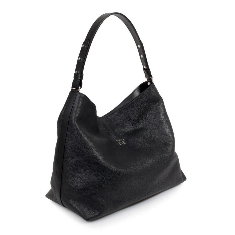 Жіноча шкіряна сумка-мішок Хобо Nata KF-3291-1
