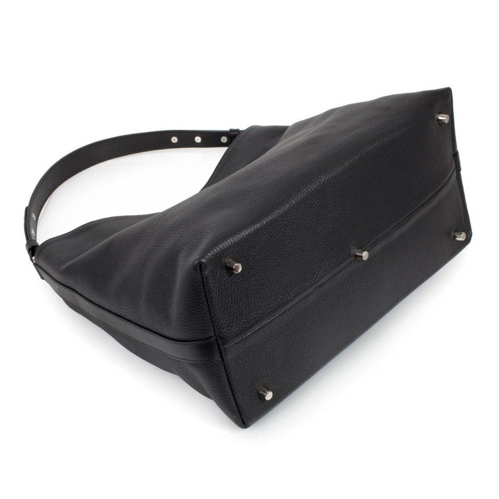 Жіноча шкіряна сумка-мішок Хобо Nata KF-3291-4