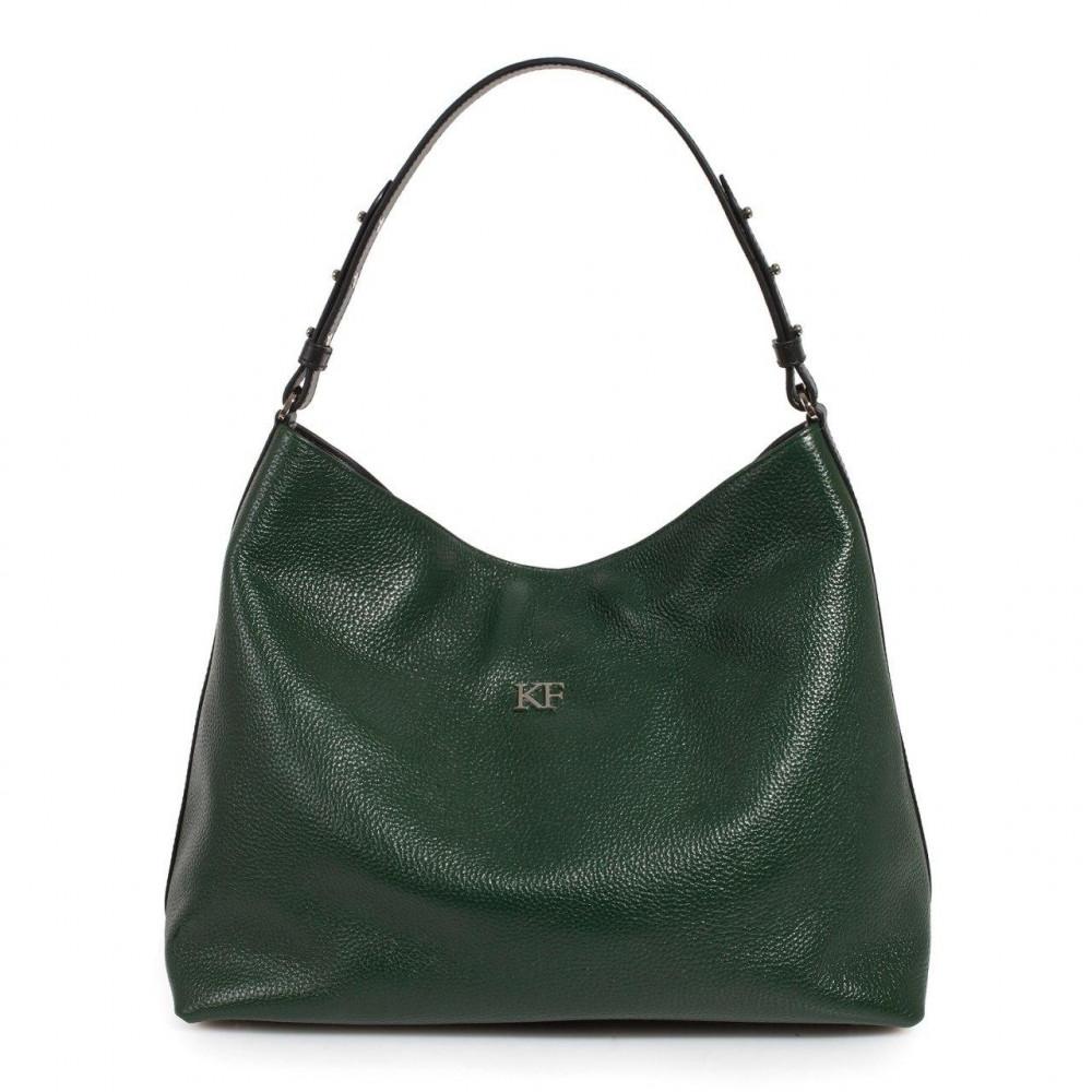 Жіноча шкіряна сумка-мішок Хобо Nata KF-3292-