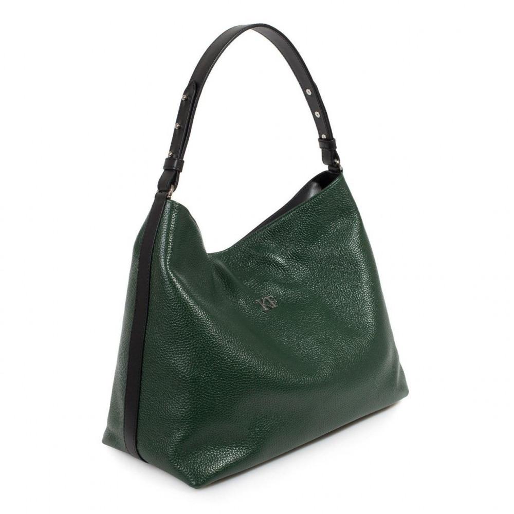 Жіноча шкіряна сумка-мішок Хобо Nata KF-3292-1