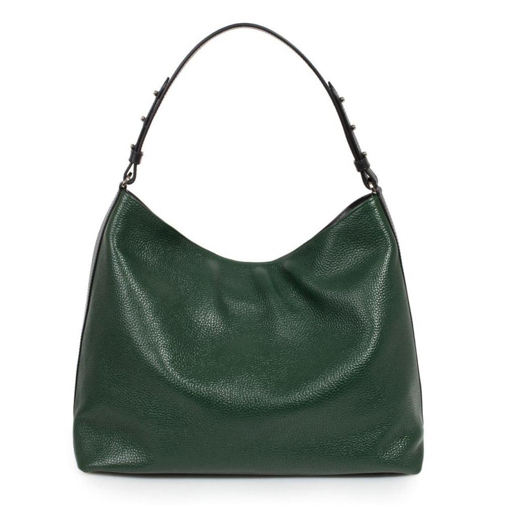Жіноча шкіряна сумка-мішок Хобо Nata KF-3292-2