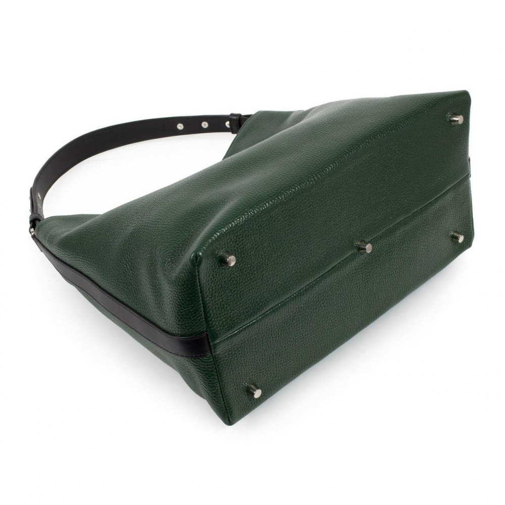 Жіноча шкіряна сумка-мішок Хобо Nata KF-3292-4