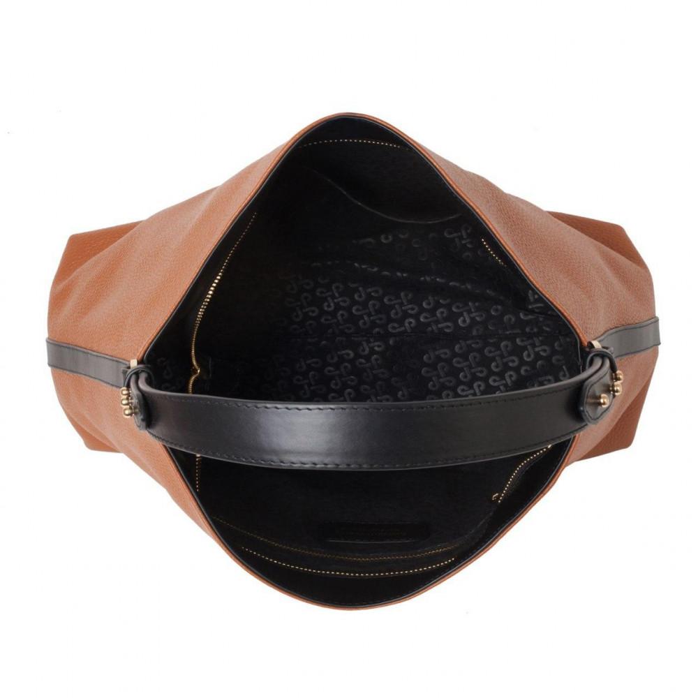Жіноча шкіряна сумка-мішок Хобо Nata KF-3293-3