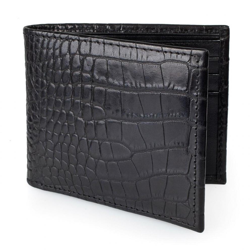 Men's leather wallet Slim fit KF-3310