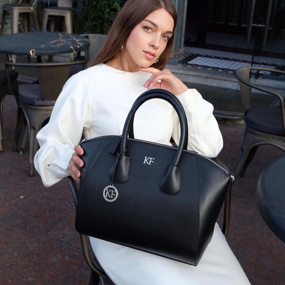 Жіноча шкіряна сумка Valeriya KF-3323-5