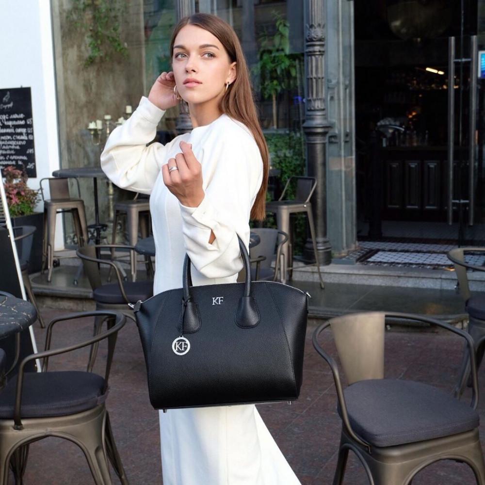 Жіноча шкіряна сумка Valeriya KF-3323-6