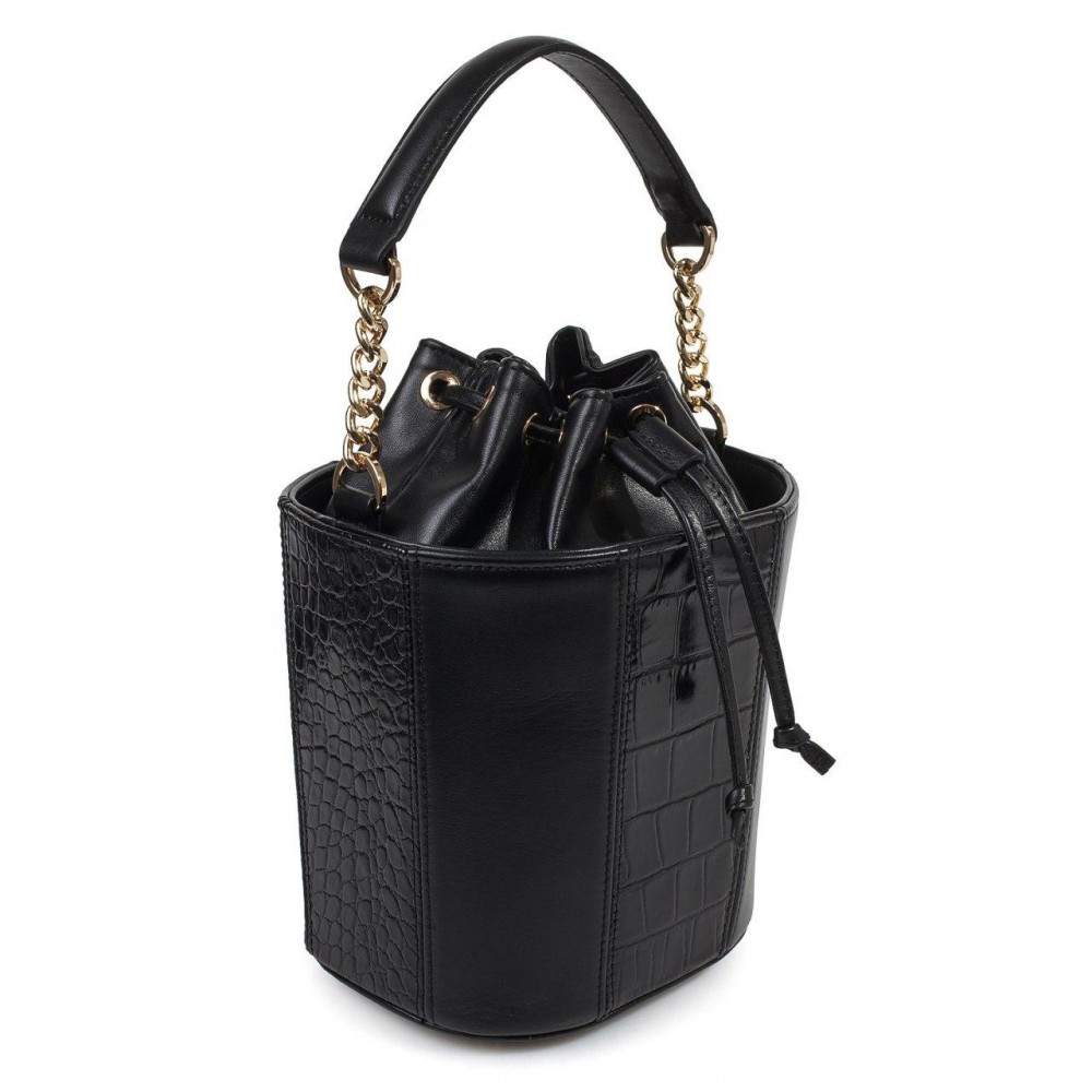 Жіноча шкіряна сумка-відро Alla KF-3326-1