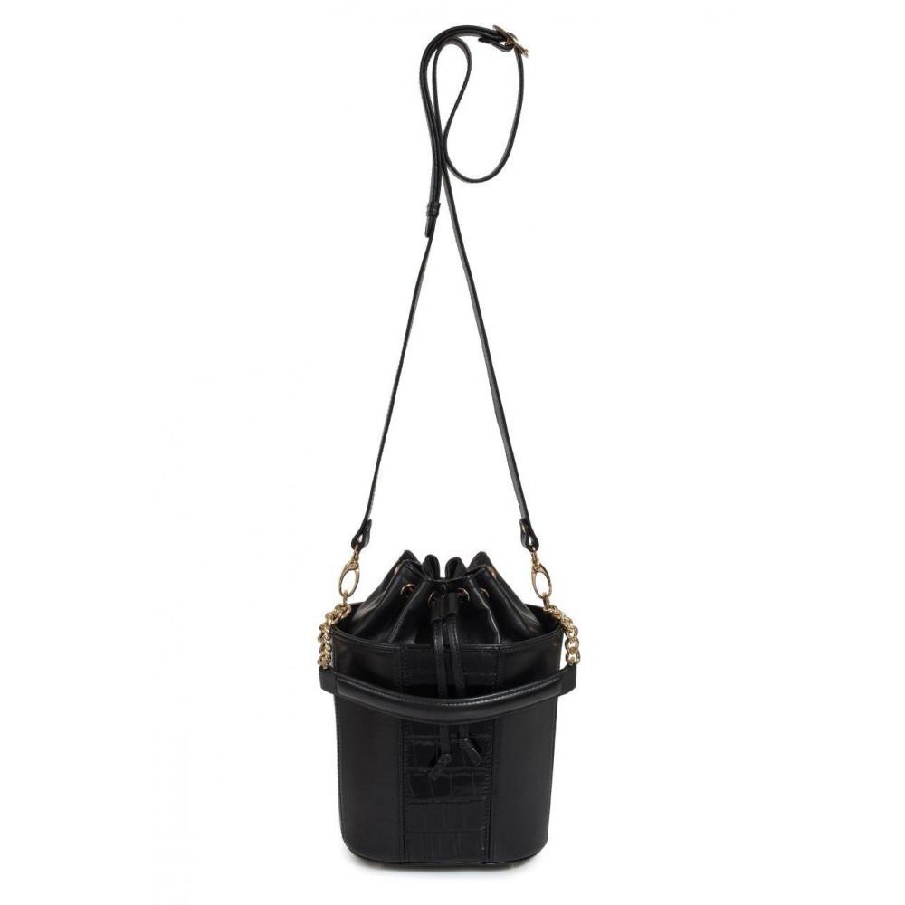 Жіноча шкіряна сумка-відро Alla KF-3326-2