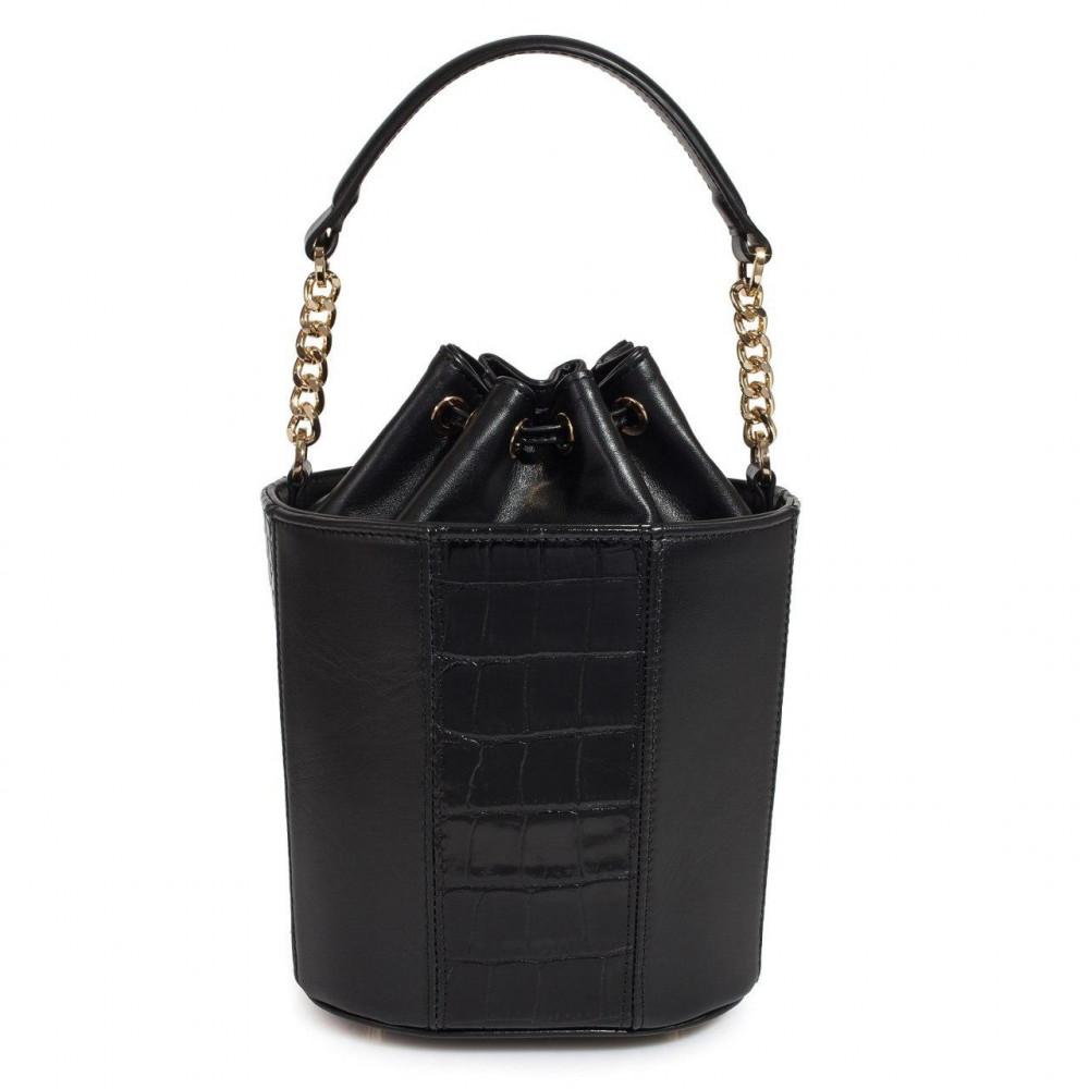 Жіноча шкіряна сумка-відро Alla KF-3326-3