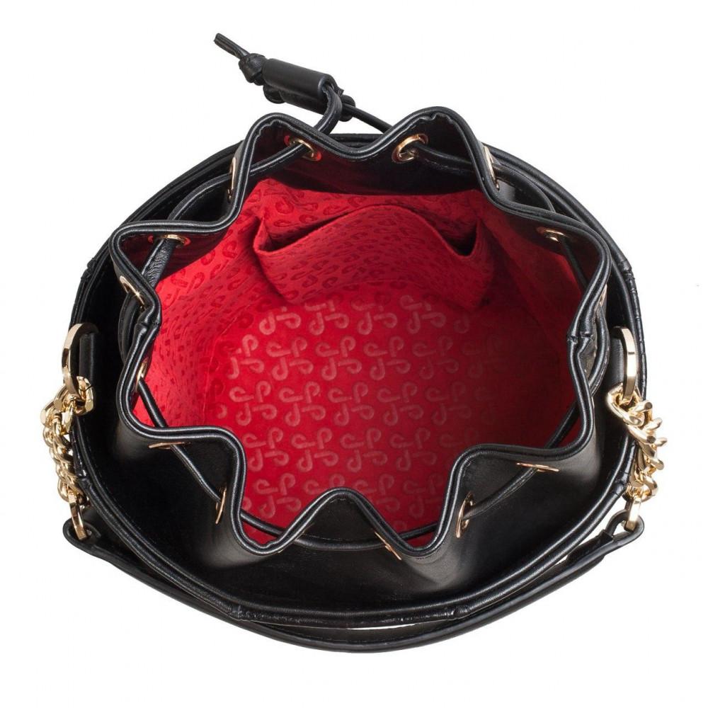 Жіноча шкіряна сумка-відро Alla KF-3326-4