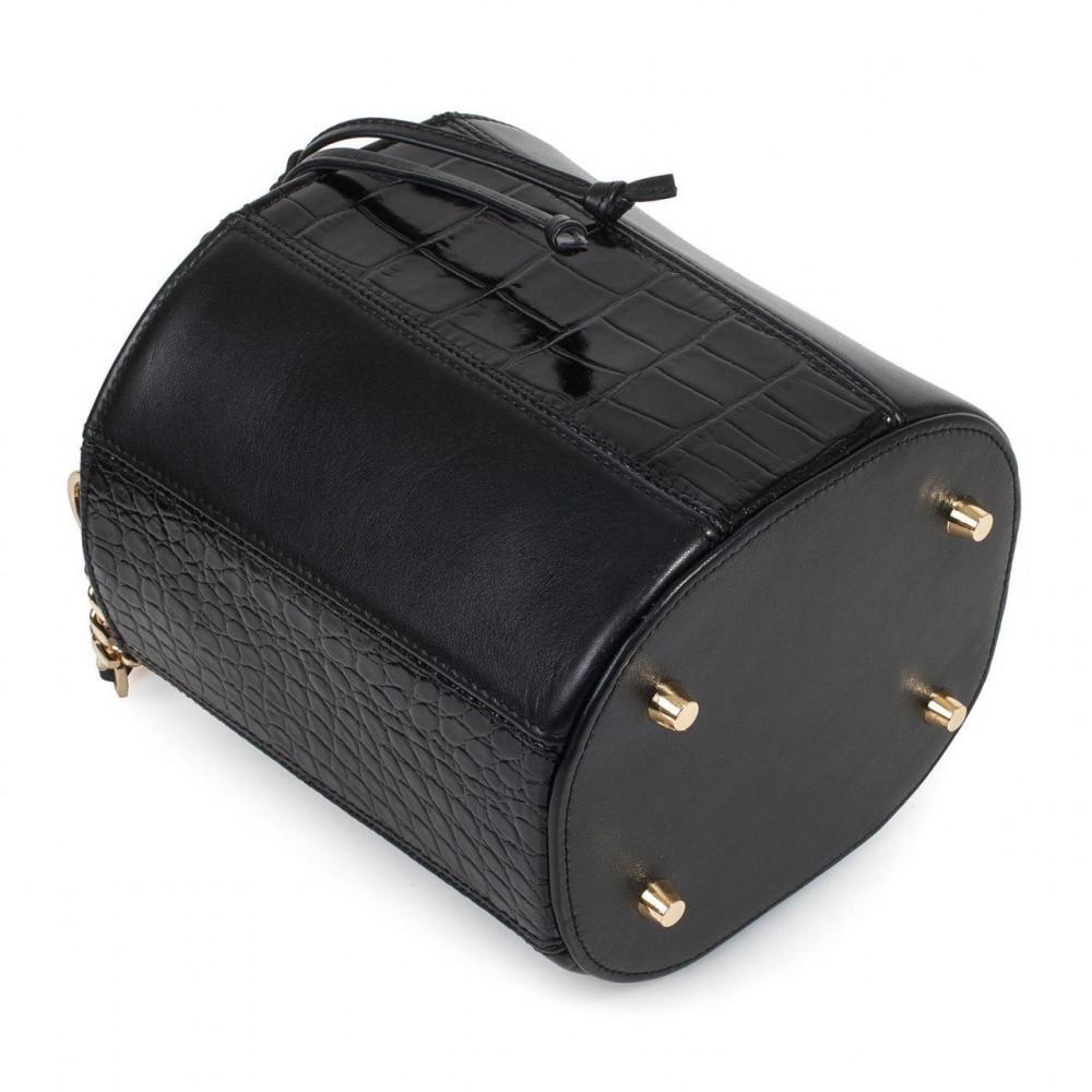 Жіноча шкіряна сумка-відро Alla KF-3326-5