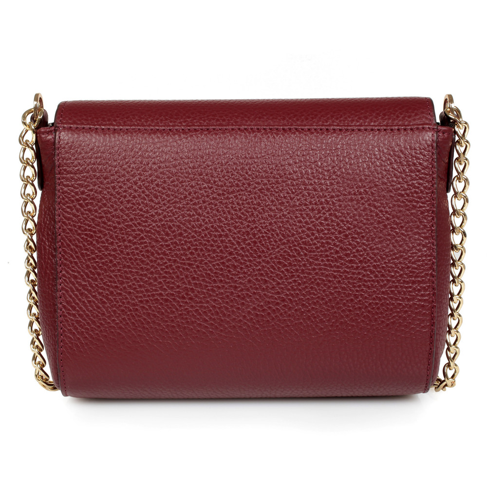 Women's leather bag  on a chain Prima S KF-334-3