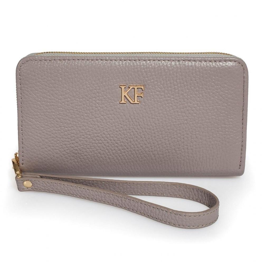 Жіночий шкіряний гаманець Classic KF-3359