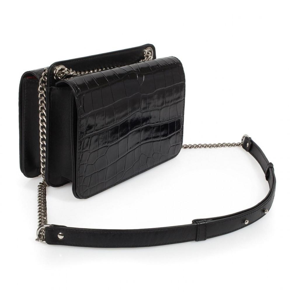 Жіноча шкіряна сумка на ланцюжку Elvira KF-3381-