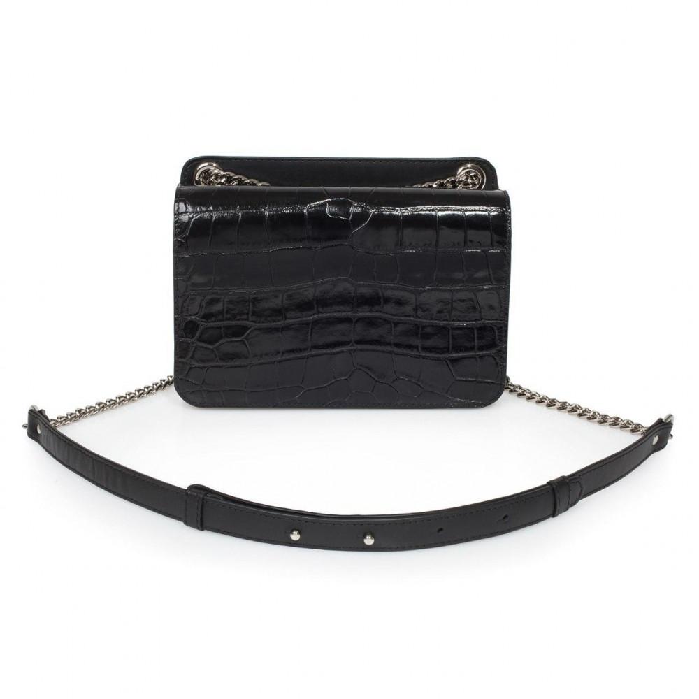 Жіноча шкіряна сумка на ланцюжку Elvira KF-3381-1
