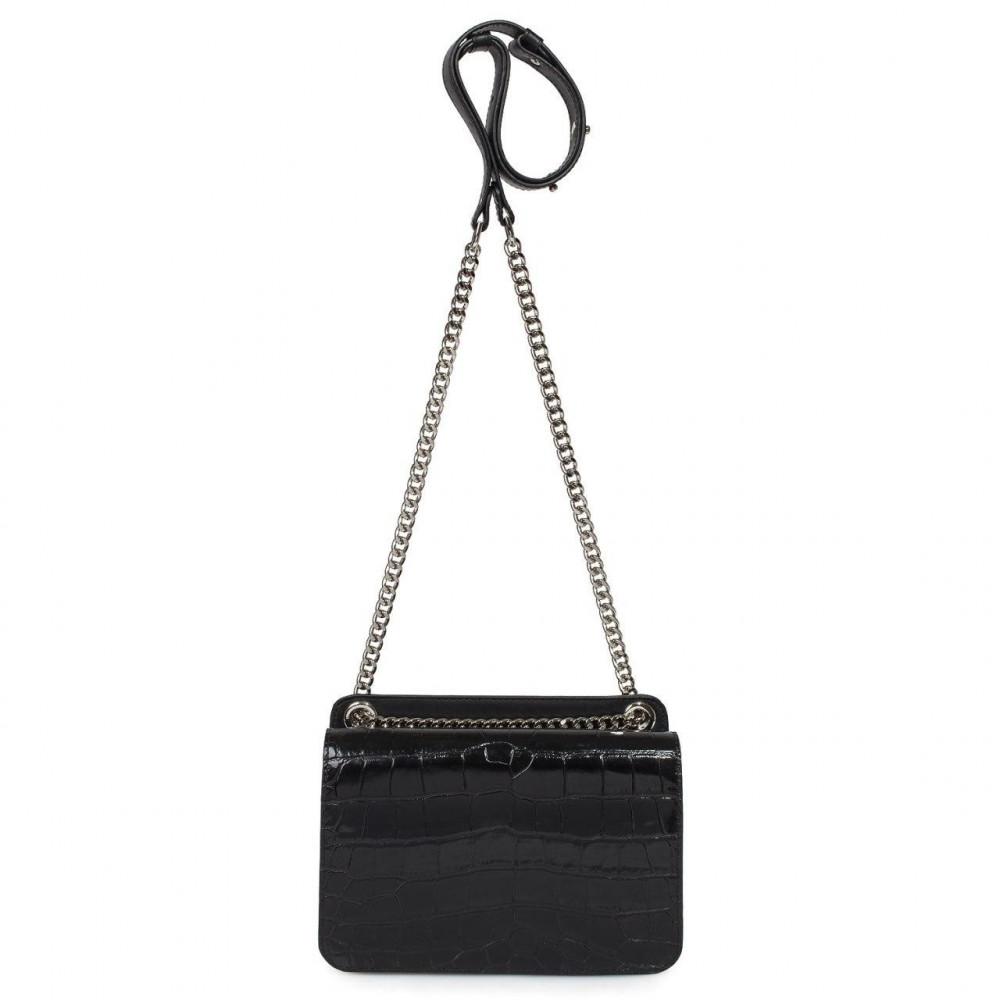 Жіноча шкіряна сумка на ланцюжку Elvira KF-3381-2