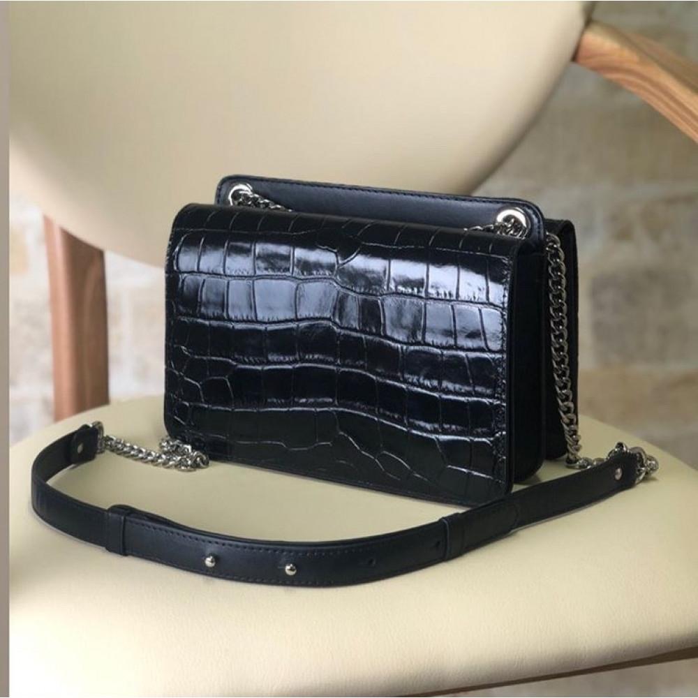 Жіноча шкіряна сумка на ланцюжку Elvira KF-3381-6