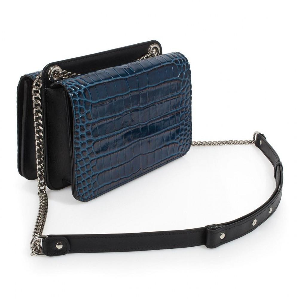 Жіноча шкіряна сумка на ланцюжку Elvira KF-3389-