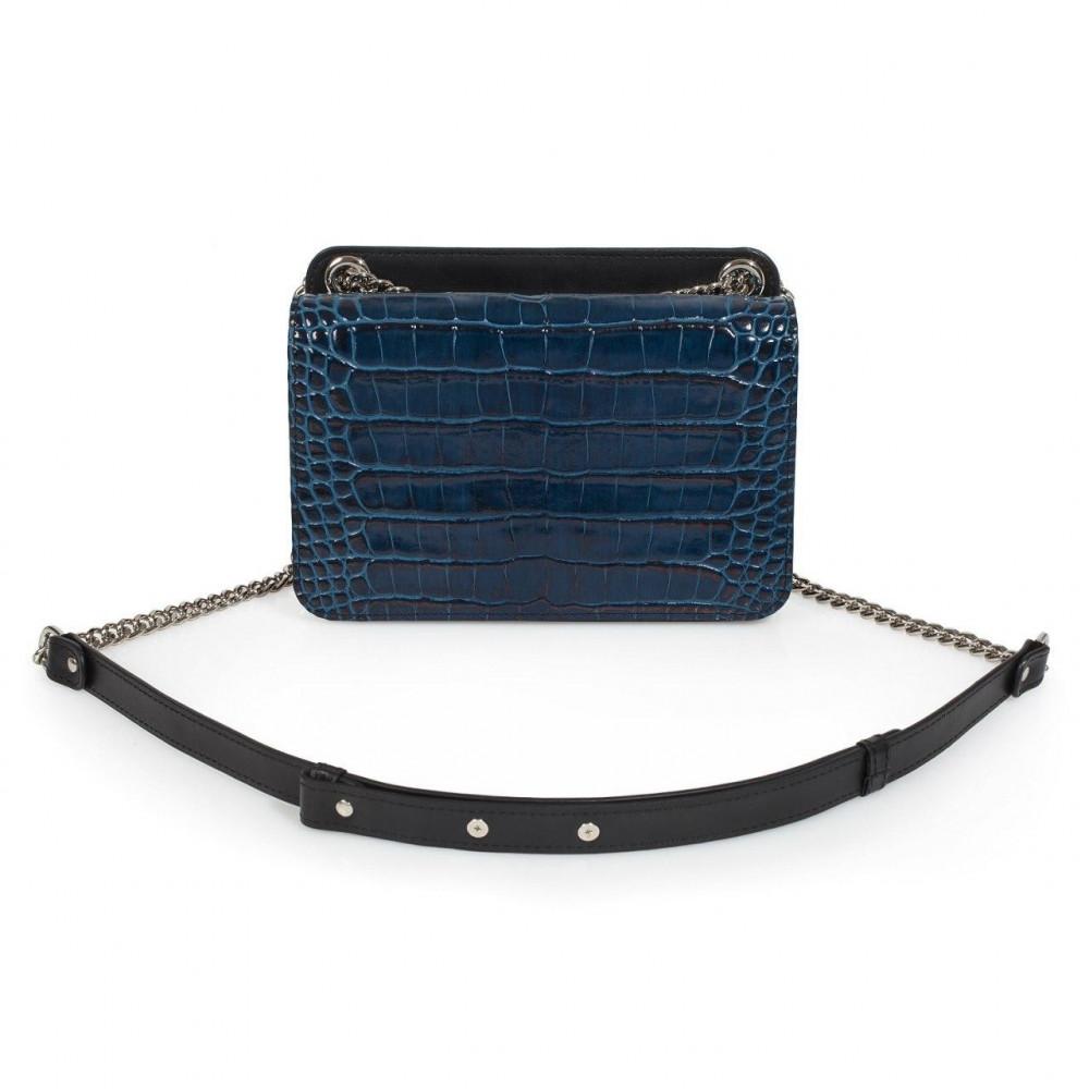 Жіноча шкіряна сумка на ланцюжку Elvira KF-3389-1