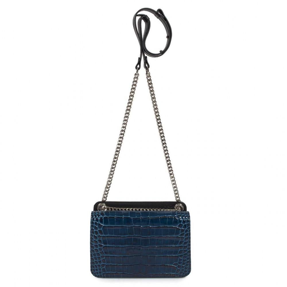 Жіноча шкіряна сумка на ланцюжку Elvira KF-3389-2