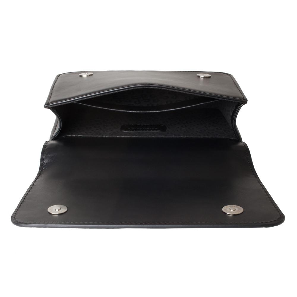Жіноча шкіряна сумка на ланцюжку Elvira KF-3389-4
