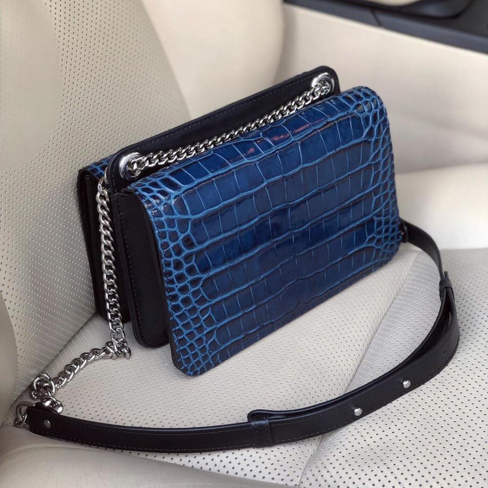 Жіноча шкіряна сумка на ланцюжку Elvira KF-3389-6