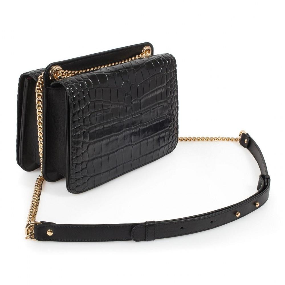 Жіноча шкіряна сумка  на ланцюжку Elvira KF-3390
