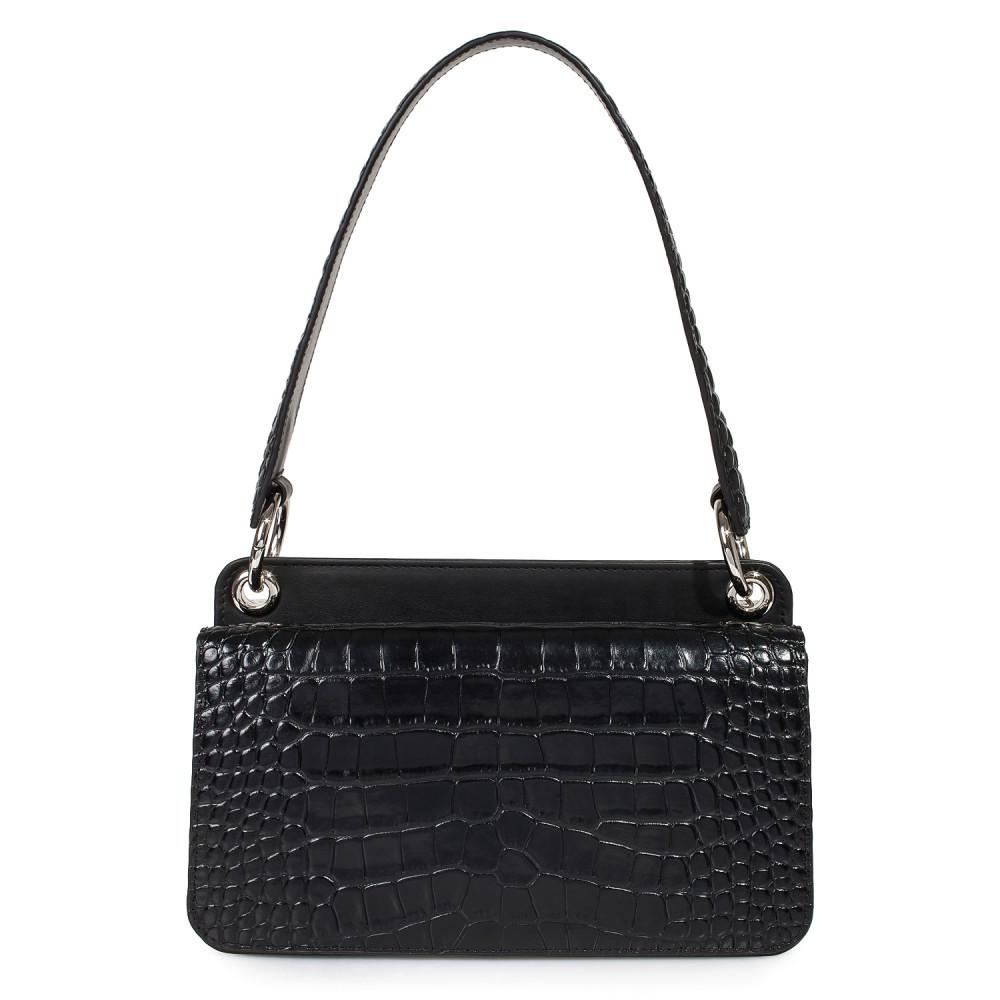 Жіноча шкіряна сумка-багет Baguette KF-3431-2