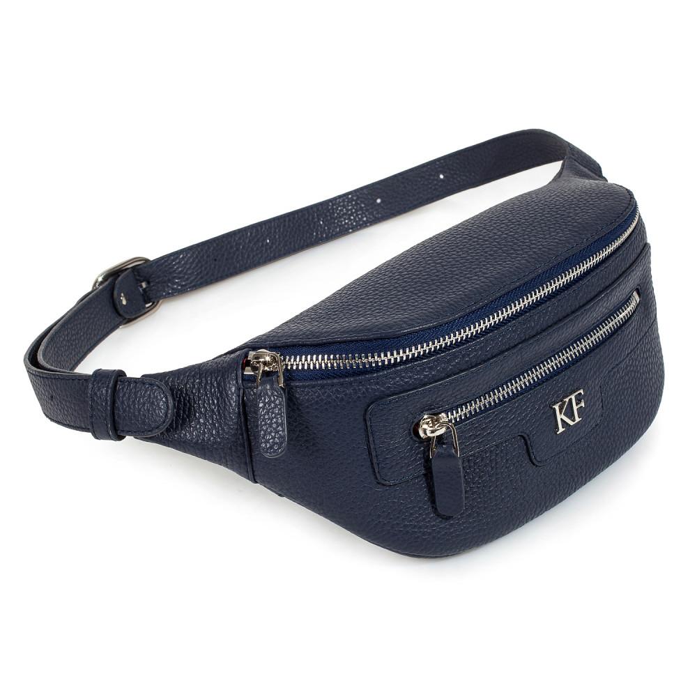 Жіноча шкіряна сумка на пояс Bananka KF-3446