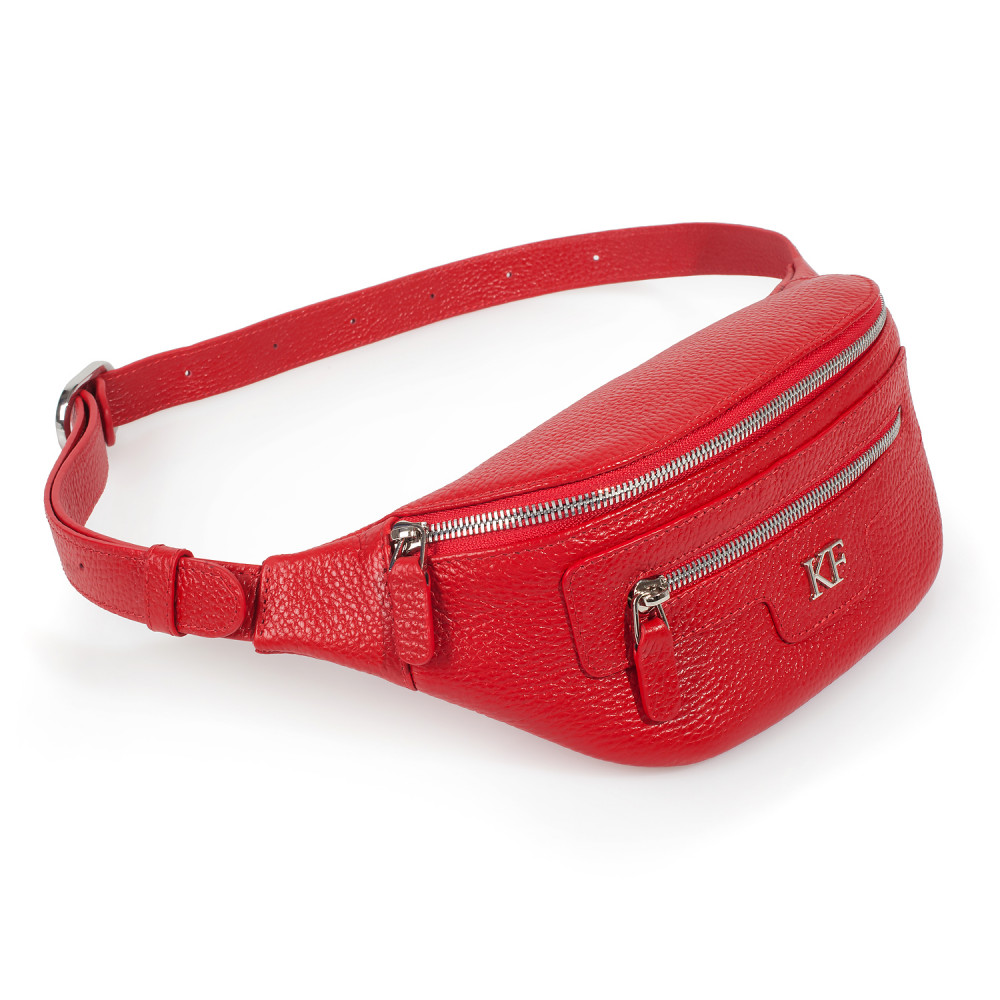 Жіноча шкіряна сумка на пояс Bananka KF-3447-