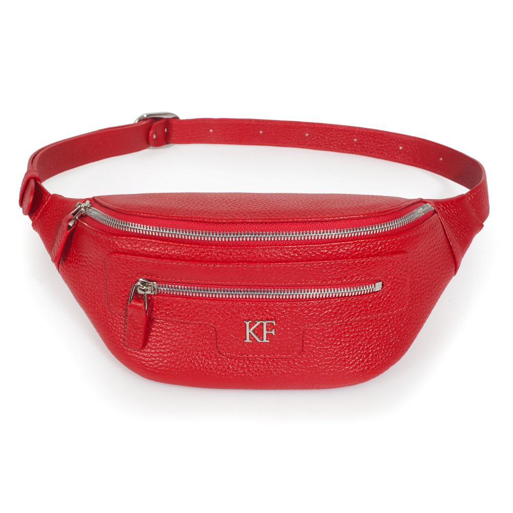 Жіноча шкіряна сумка на пояс Bananka KF-3447-1