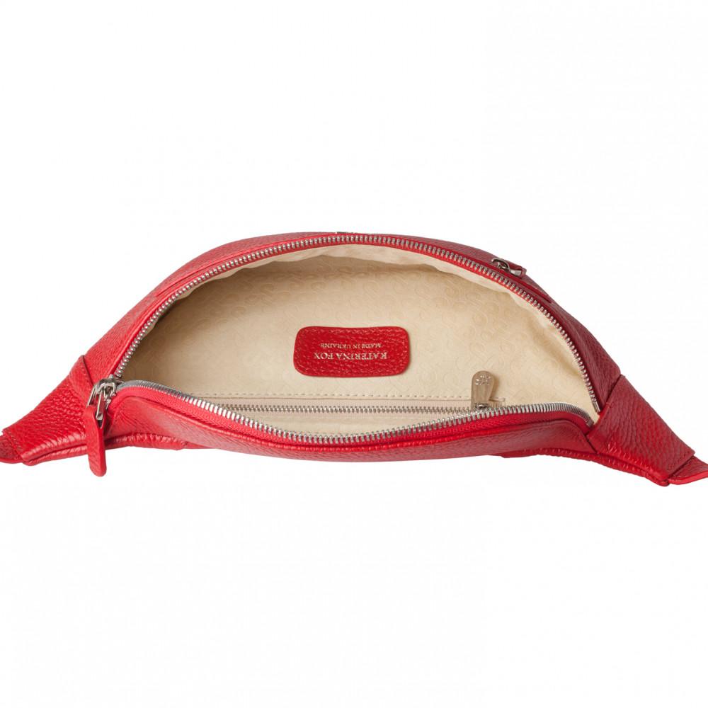 Жіноча шкіряна сумка на пояс Bananka KF-3447-3