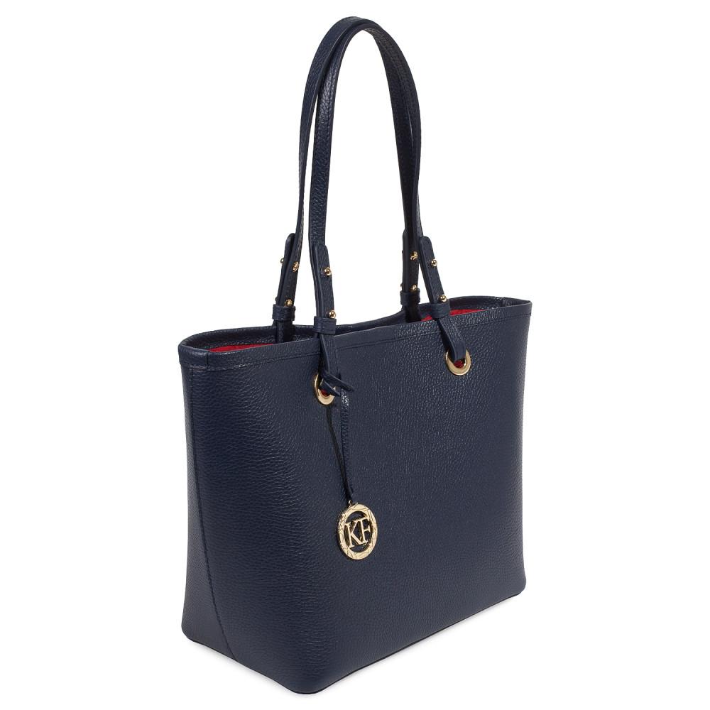 Жіноча шкіряна сумка Тоут Tina KF-3465-1