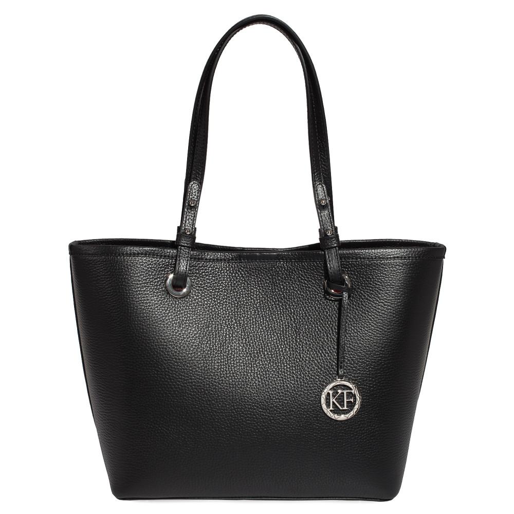 Жіноча шкіряна сумка Тоут Tina KF-3466
