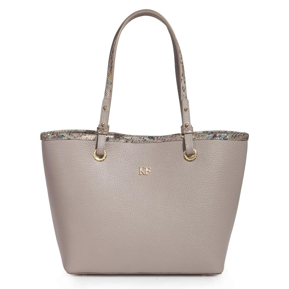 Жіноча шкіряна сумка Тоут Tina KF-3468