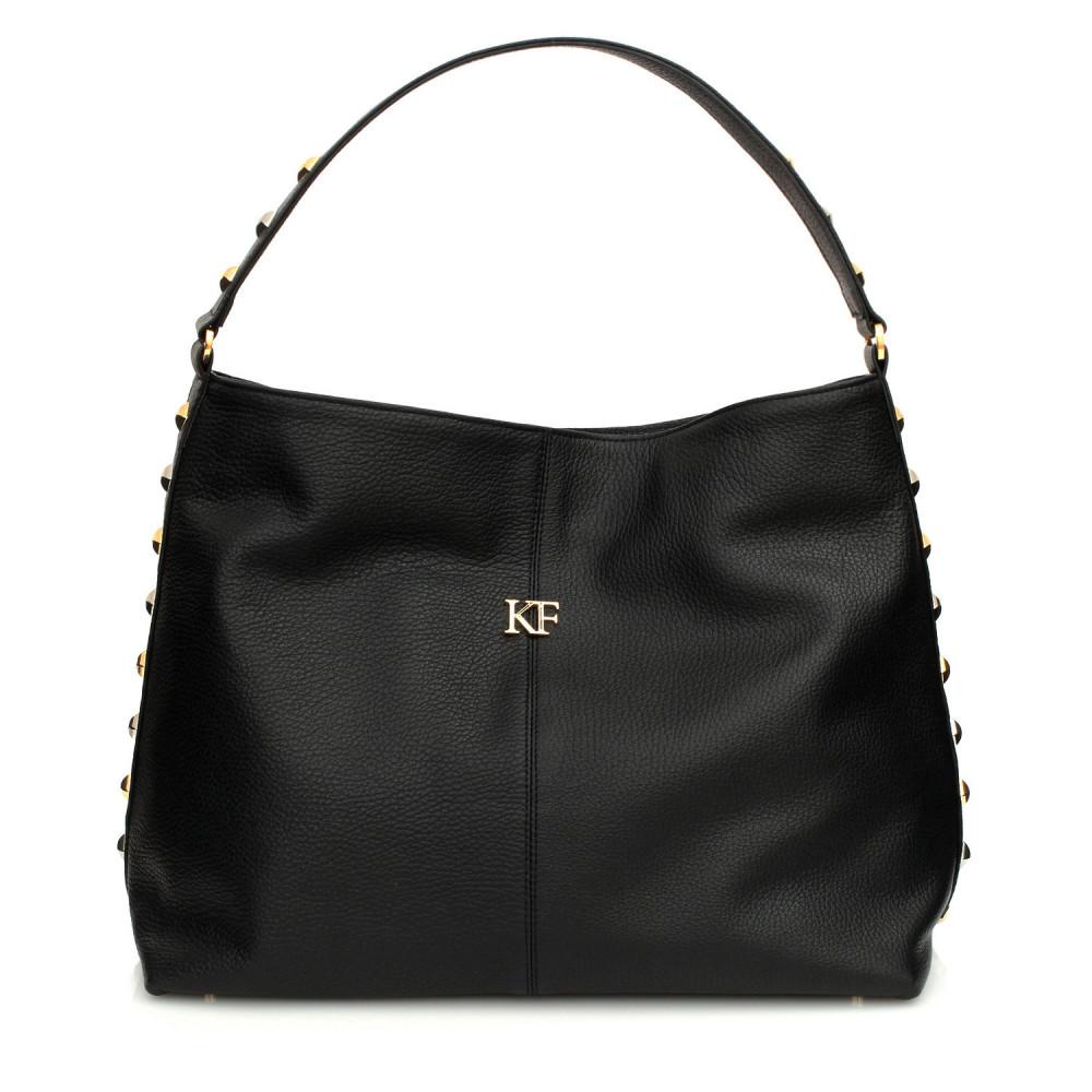 Жіноча шкіряна сумка-мішок Хобо Nata KF-347