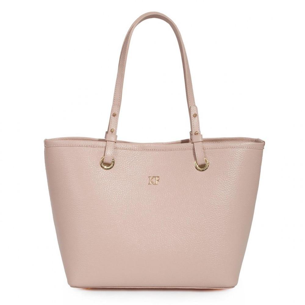 Women's leather bag Tote Tina KF-3470