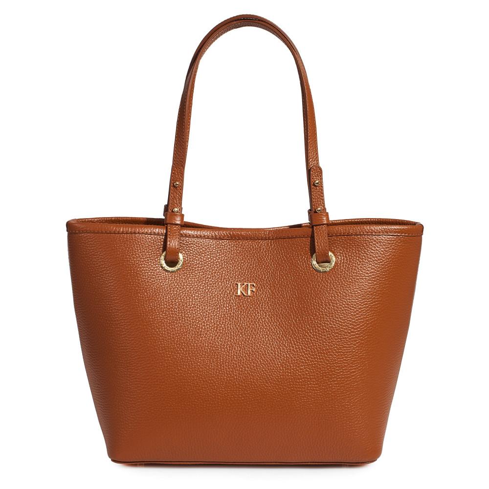 Women's leather bag Tote Tina KF-3471