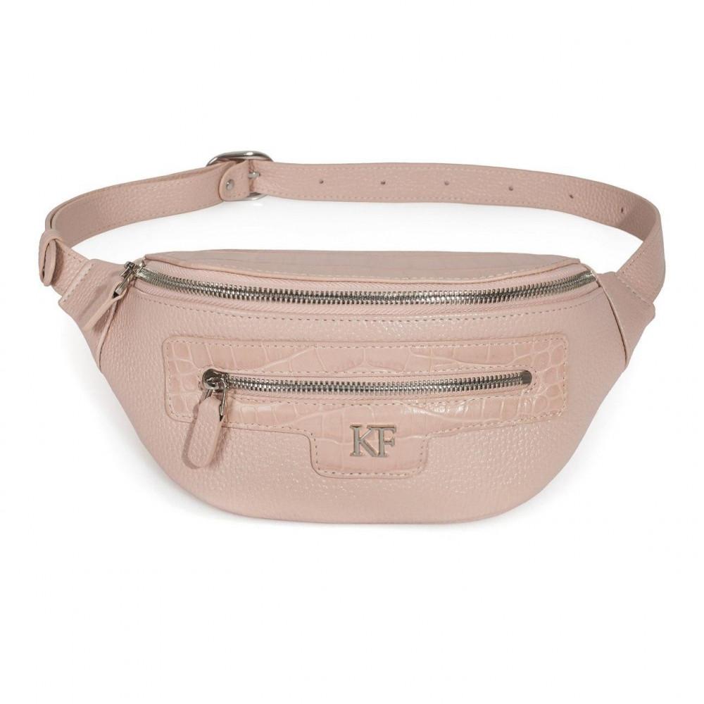 Жіноча шкіряна сумка на пояс Bananka KF-3474-1