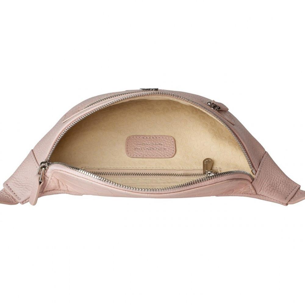 Жіноча шкіряна сумка на пояс Bananka KF-3474-3